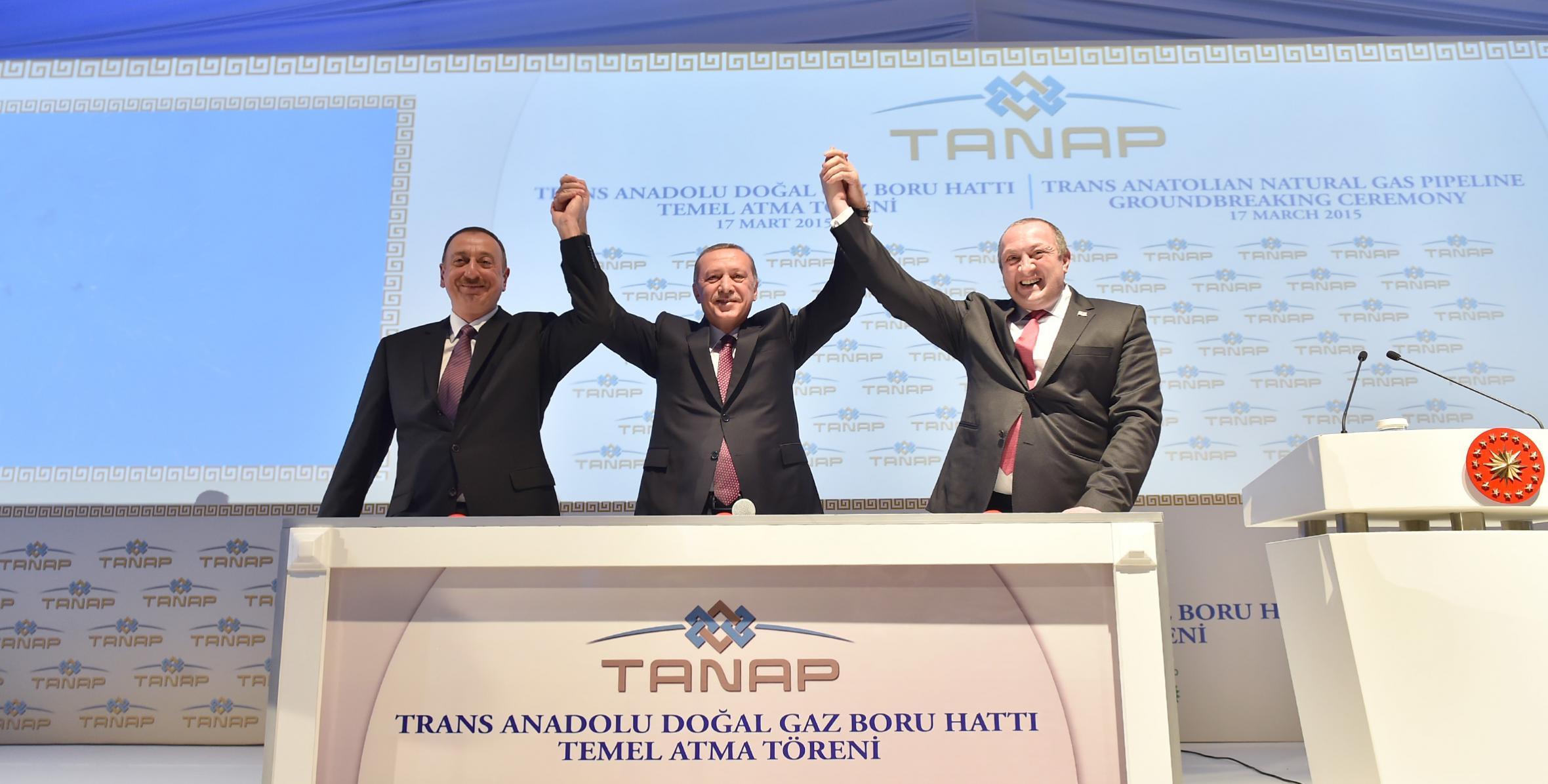 İlham Əliyev TANAP ile ilgili görsel sonucu